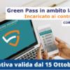 Green pass in ambito lavorativo : incaricato al controllo